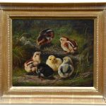 Chicks By Arthur Fitzwilliam Tait