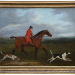 Huntsman & Hounds By Artist John Francis Sartorius