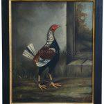 Old English Game Cock By Hilton C Pratt