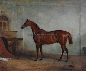 Hunter In A Stable