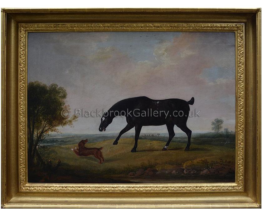 Best of friends by Thomas Weaver antique animal portrait